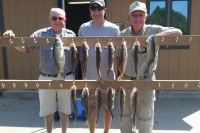 New Customers with SD Walleye Charters!